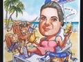 Girl on a sunlounger
