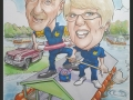 Caravan site couple