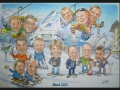 Caricature - Mayrhofen March 2013