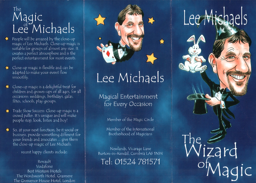 Lee Michaels Magician illustration