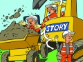 Dumper accident illustration