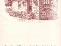 The Old Dairy Teashop - pen & ink illustration