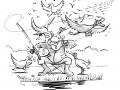 illustration for p182 - ducks