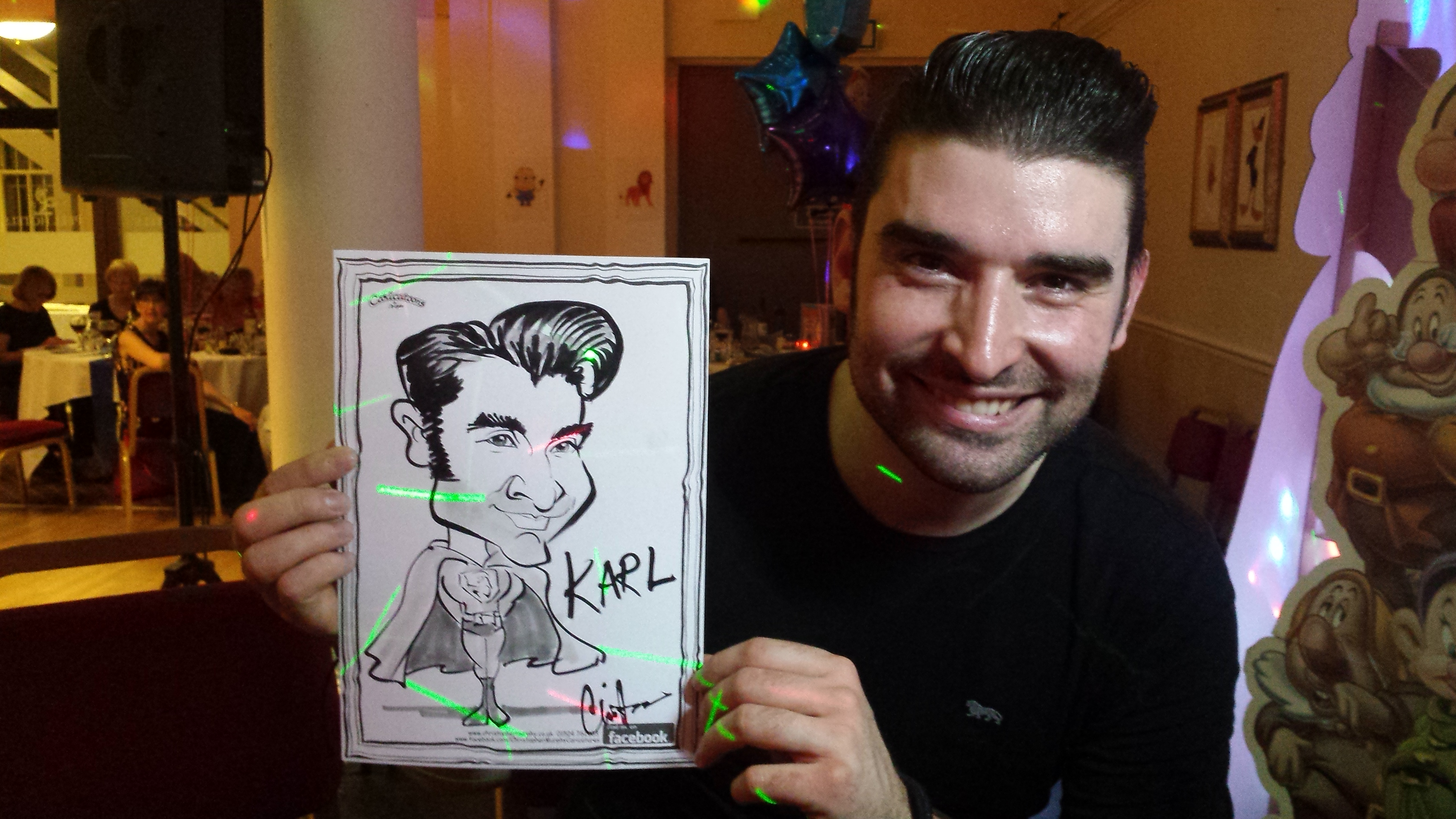 Caricature by Chris Murphy