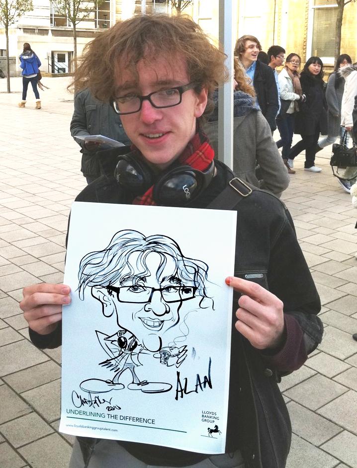 Student caricature