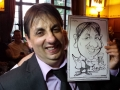 Caricature by Chris Murphy at Broadoaks Country Hotel