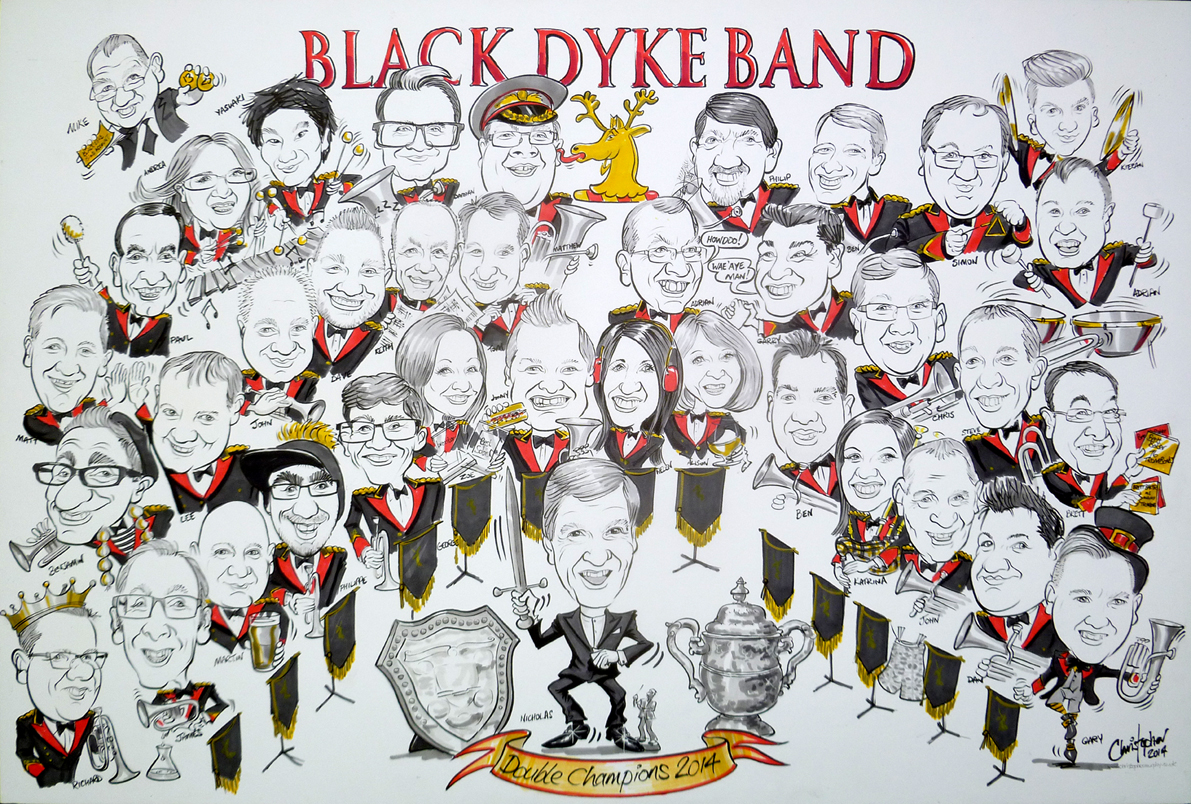 Black Dyke Band low res - Christopher Murphy