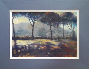 Oil painting of Ravello